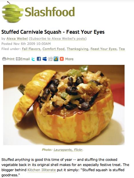 Kitchen Illiterate on Slashfood