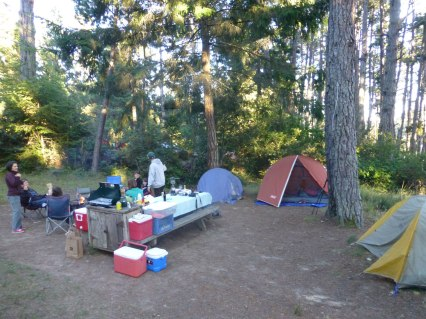1 of two campsites